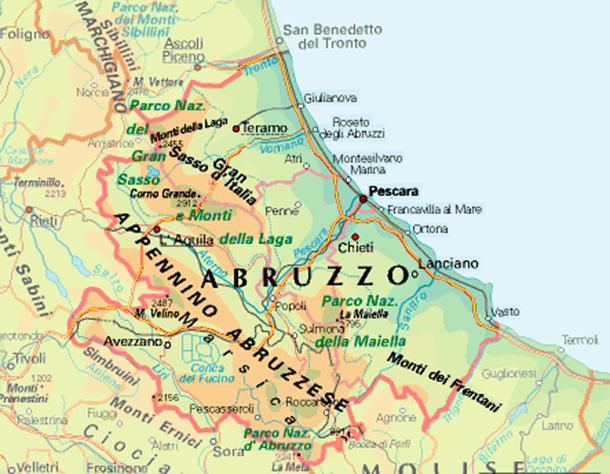 Cartina Abruzzo Pdf.Mafie In Abruzzo Il Ventre Oscuro C E Ed E Ampio