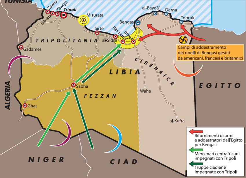 Libia Italia Cartina.Libia La Strada E Un Altra