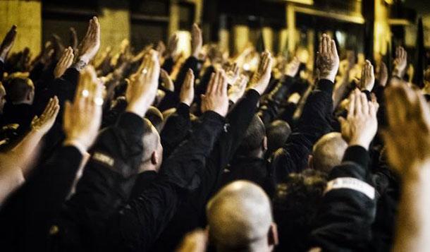 fascista manifestazione