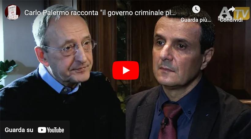 Carlo Palermo racconta ''il governo criminale planetario''